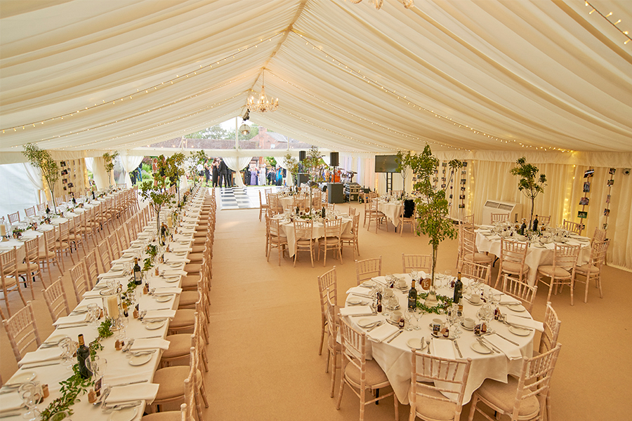 Party Marquee Tables