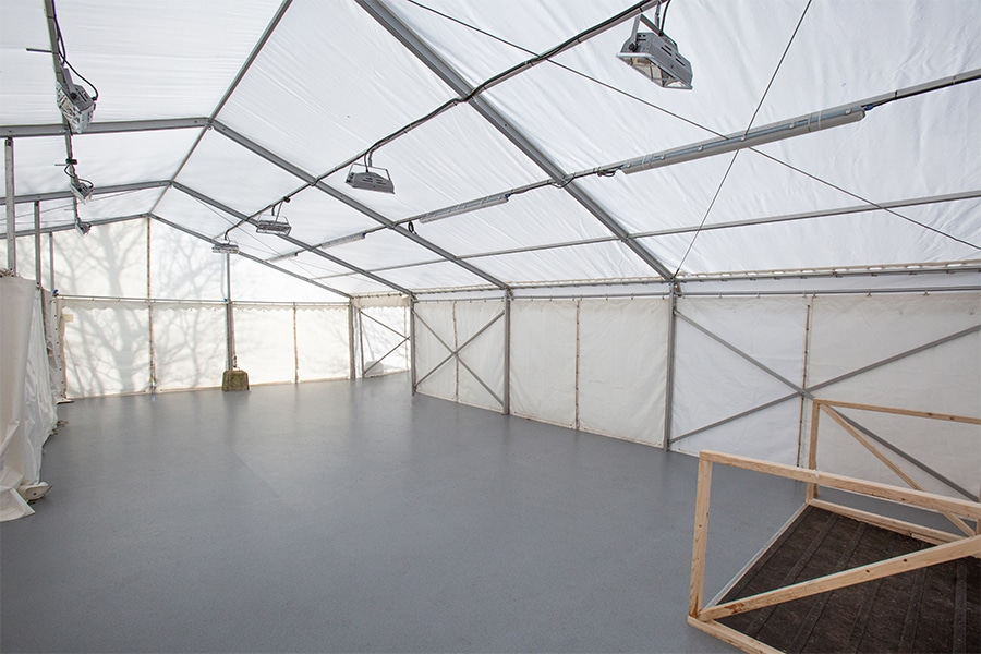 Covid Testing Marquee