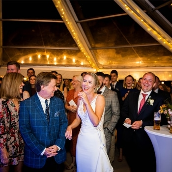 Marquee Wedding Warwickshire