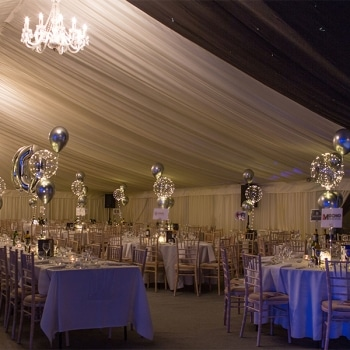 Christmas Ball Marquee