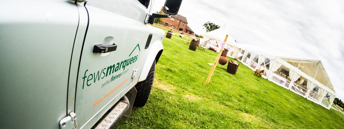Fews Marquees vehicle