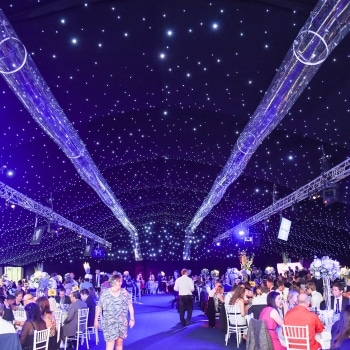 Blenheim Palace Marquee with dining capacity for over 1,250 guests