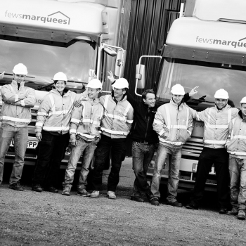 Fews Marquees have a diverse range of employees and are an equal opportunities employer