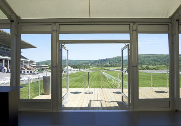 Cheltenham Racecourse marquee