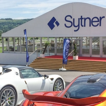 Fews Marquees created a 25m x 45m structure for Sytner