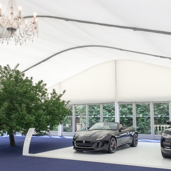 Corporate marquee hire by Fews Marquees