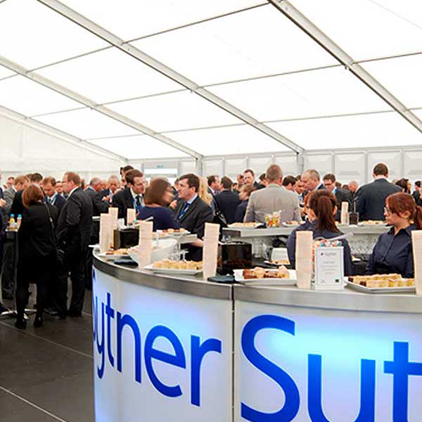 Corporate marquees for conferences