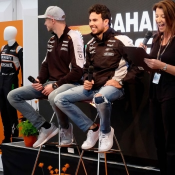 Force India party question time