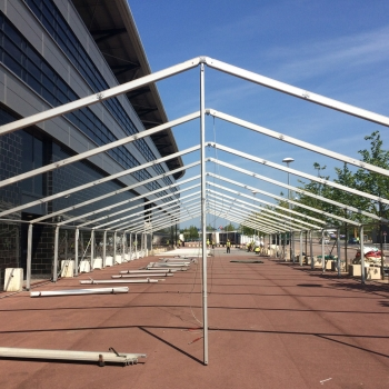 Fews Marquees marquee construction