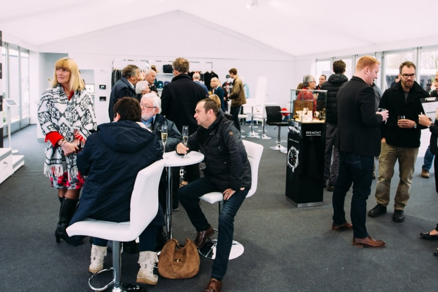Jaguar Land Rover event marquee