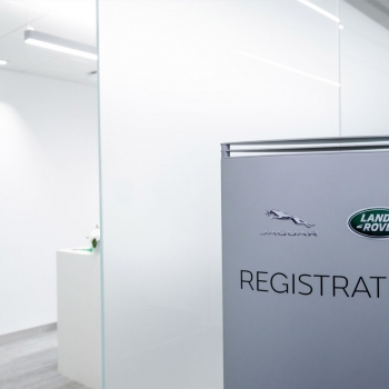 Jaguar Land Rover marquee registration