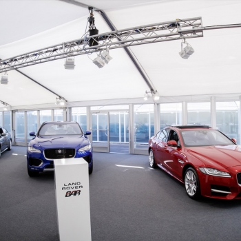 Jaguar Land Rover marquee