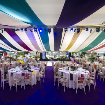 Party marquee by Fews Marquees