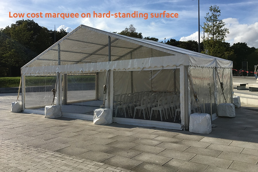 low-cost-marquee-on-hard-standing2