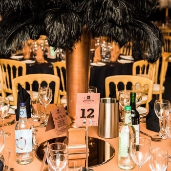Fews Marquees Real Party MJK Table Setting