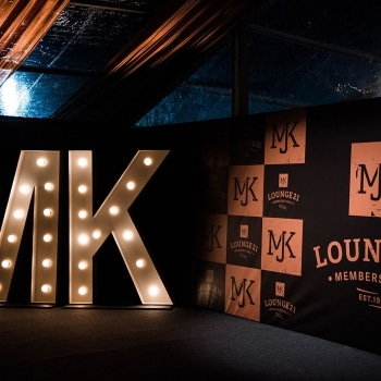 Fews Marquees Real Party MJK Entrance