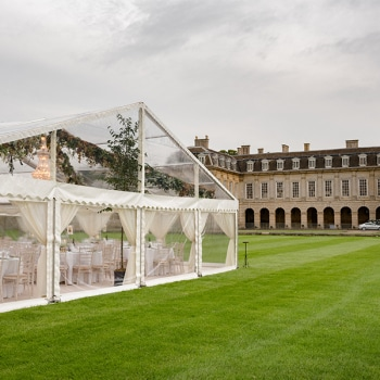 Clear Roof Luxury Marquee