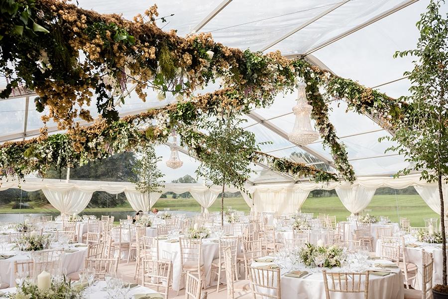 Luxury Fews Wedding Marquee