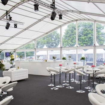 Marquees for sporting occasions