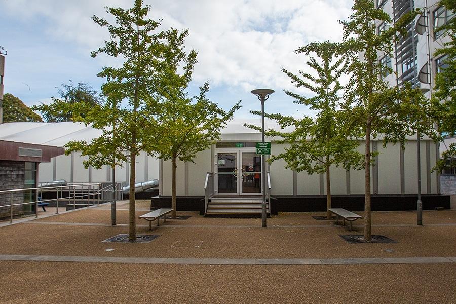 temporary medical centre
