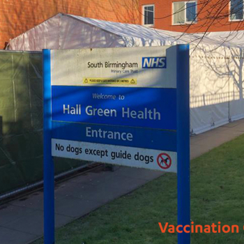 vaccination marquee